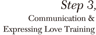 Step,3 Communication&Expressing Love Training
